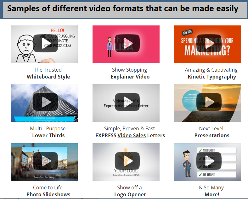 Easy Video creation Software